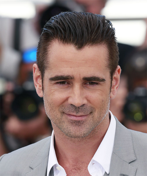 Colin Farrell Short Straight Formal  - Dark Brunette (Mocha)