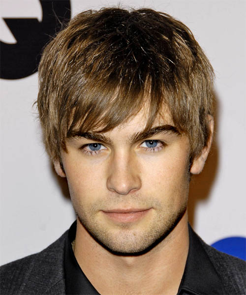 Chace Crawford Short Straight Hairstyle