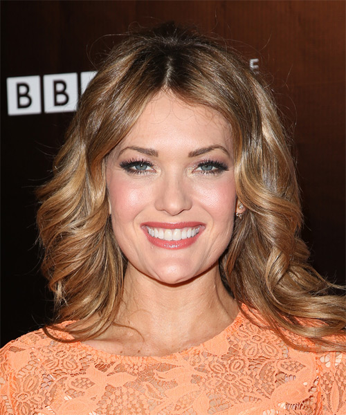 Amy Purdy Wavy Formal