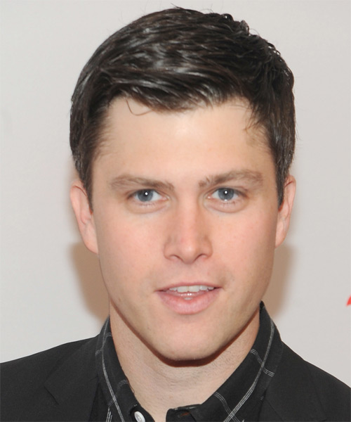Colin Jost Short Straight Formal  - Dark Brunette