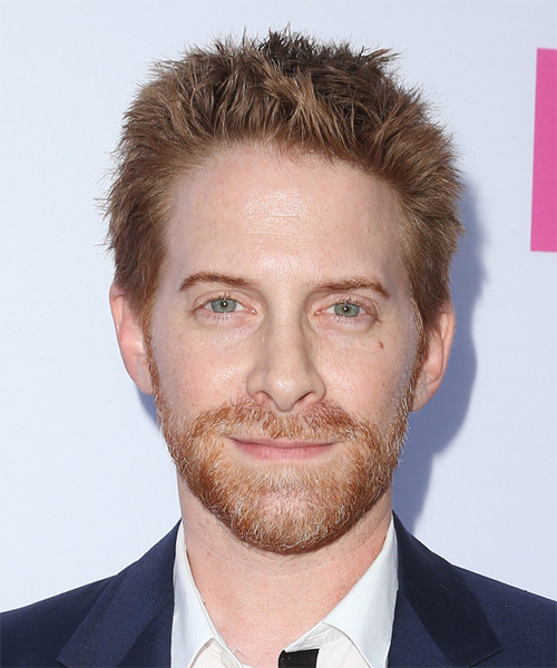 Seth Green Short Straight Casual Hairstyle - Light Red Hair Color