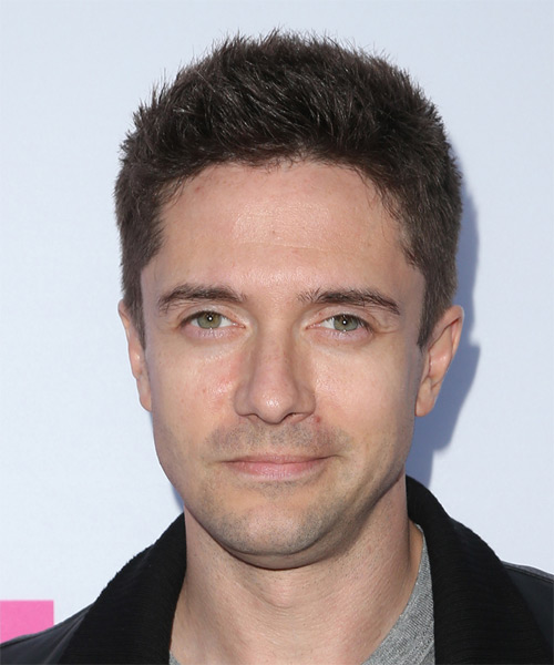 Topher Grace Short Straight