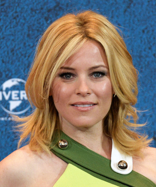 Elizabeth Banks Medium Straight Casual Hairstyle - Medium Blonde (Honey) Hair Color