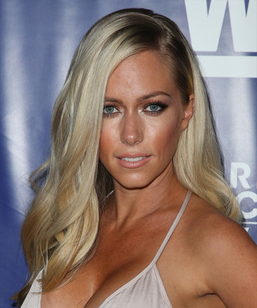 Kendra Wilkinson Long Straight Formal Hairstyle Light