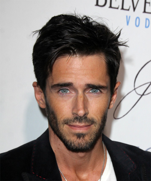 Brandon Beemer Short Straight Casual Hairstyle