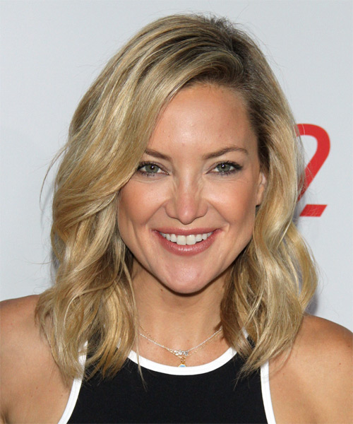 Kate Hudson Wavy Casual