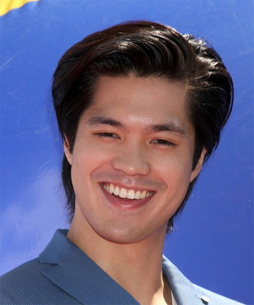 Ross Butler Short Straight Formal  - Dark Brunette