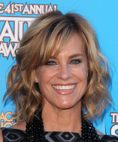 Catherine Mary Stewart Medium Wavy Casual