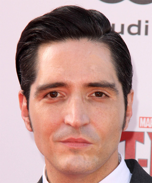 David Dastmalchian Short Straight Formal Hairstyle - Dark Brunette Hair Color