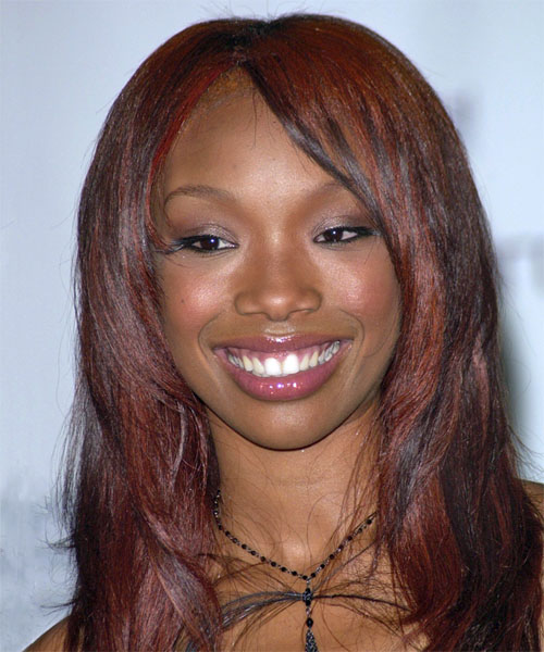 Brandy - Casual Long Straight Hairstyle