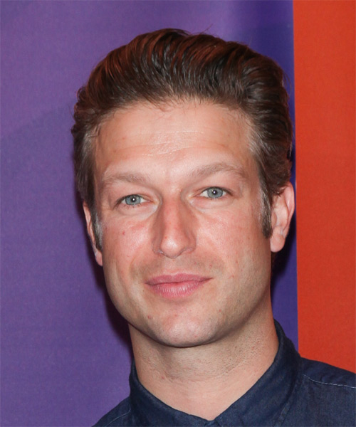 Peter Scanavino Short Straight Formal Hairstyle - Medium Brunette Hair Color