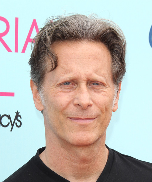 Steven Weber Short Straight Casual Hairstyle - Medium Grey Hair Color