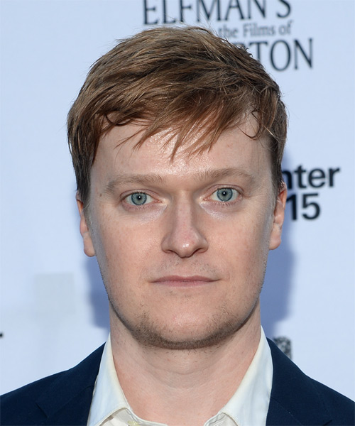 Steven Boyer Short Straight Casual Hairstyle - Dark Blonde Hair Color