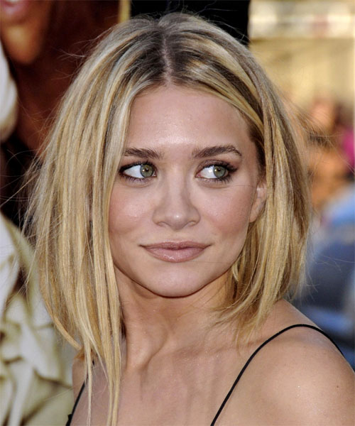 Ashley Olsen - Casual Long Straight Hairstyle
