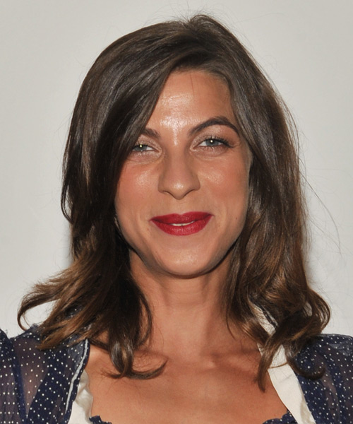 Natalia Tena Long Straight Casual