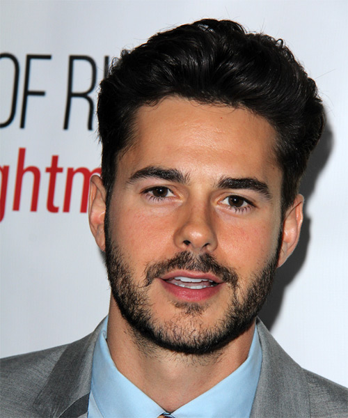 Jayson Blair Short Straight Formal Hairstyle - Black Hair Color