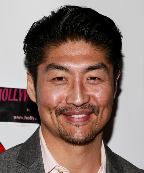 Brian Tee Short Straight Formal Hairstyle - Black Hair Color