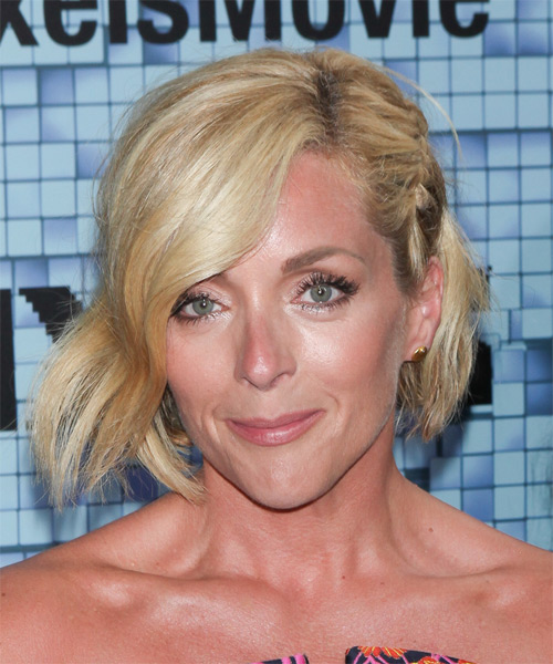 Jane Krakowski Medium Straight Hairstyle - Medium Blonde (Golden)