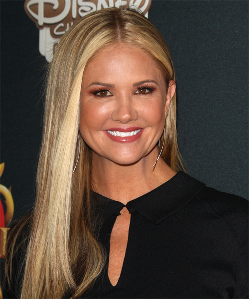 Nancy O Dell Long Straight Formal