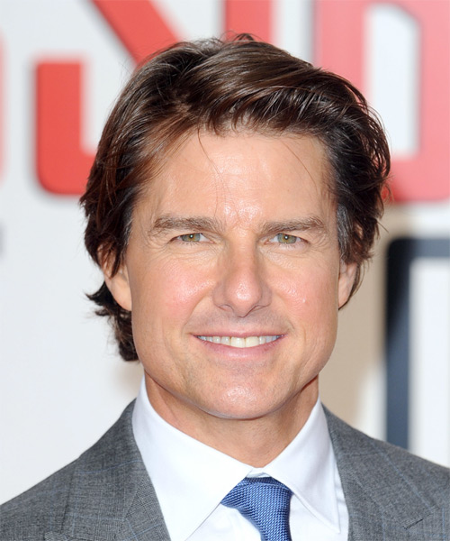 Tom Cruise Short Straight