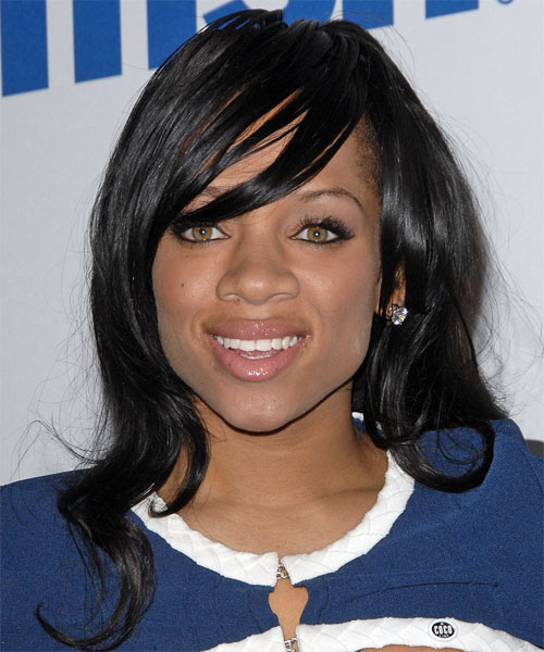 Lil Mama - Casual Long Straight Hairstyle