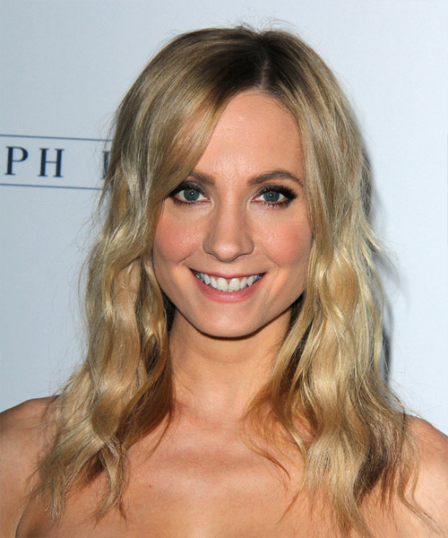 Joanne Froggatt Long Wavy Casual Hairstyle - Medium Blonde Hair Color