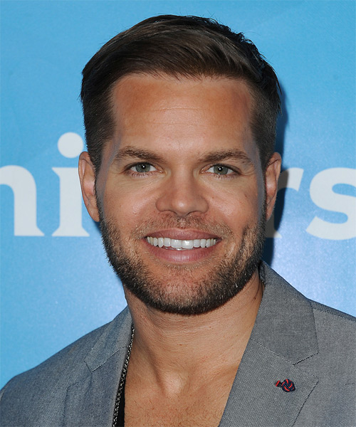 Wes Chatham Short Straight Formal Hairstyle - Medium Brunette Hair Color