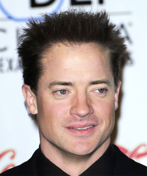 Brendan Fraser Short Straight Casual Hairstyle