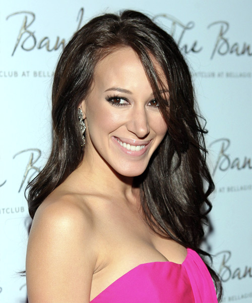 Haylie Duff Long Wavy Formal Hairstyle
