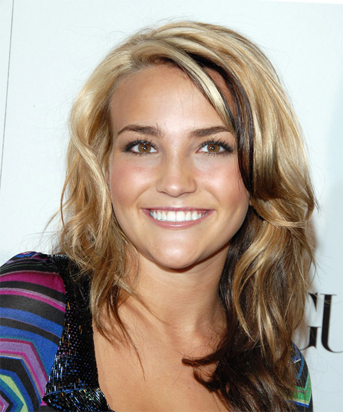 Jamie Lynn Spears Long Wavy Casual Hairstyle