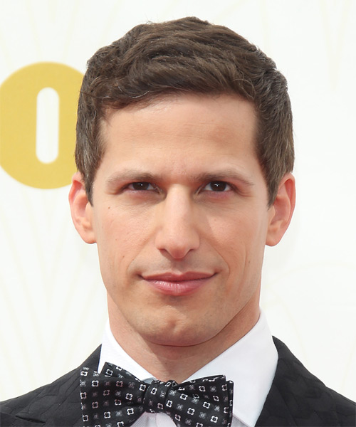 Andy Samberg Short Straight