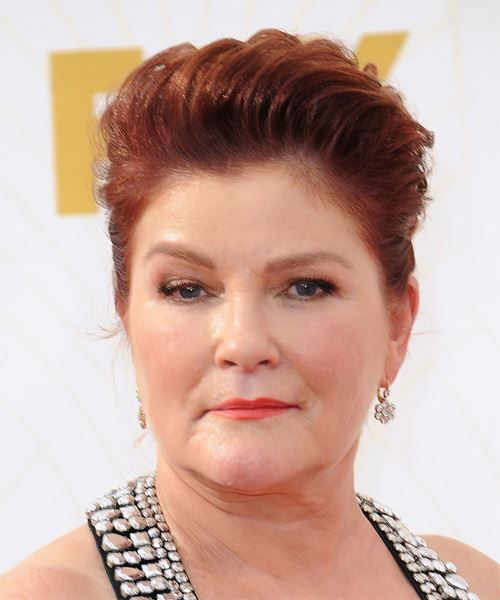 Kate Mulgrew Short Straight Formal Hairstyle