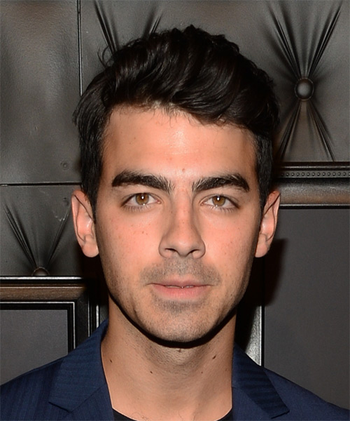 Joe Jonas Short Wavy Casual