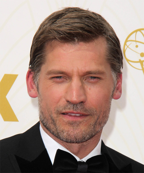 Nikolaj Coster Waldau Short Straight Casual Hairstyle - Light Brunette Hair Color