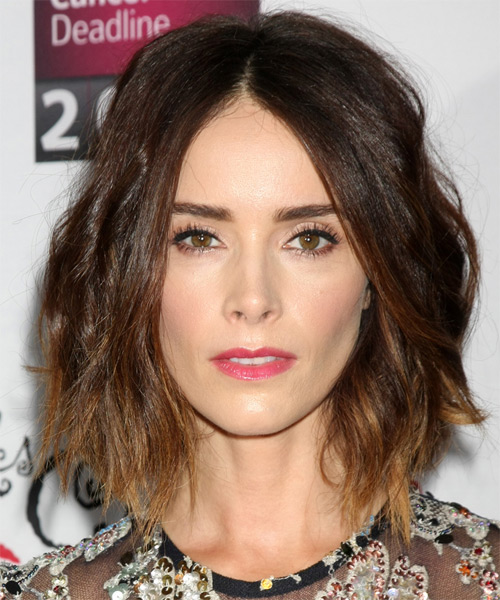 Abigail Spencer Medium Wavy Casual