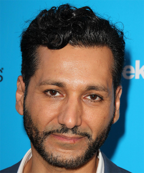 Cas Anvar Short Wavy Formal Hairstyle