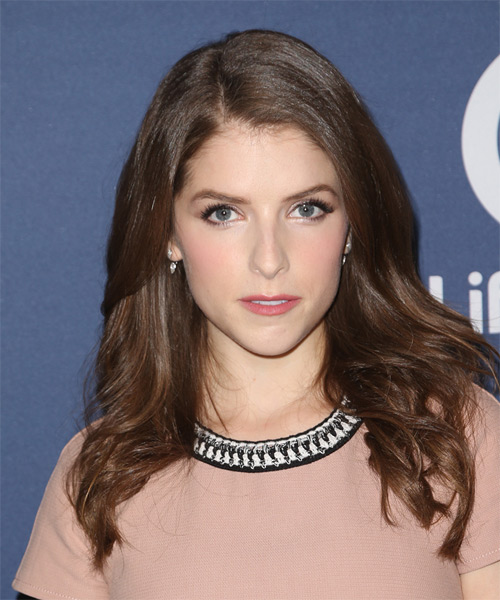 Anna Kendrick Long Straight Casual
