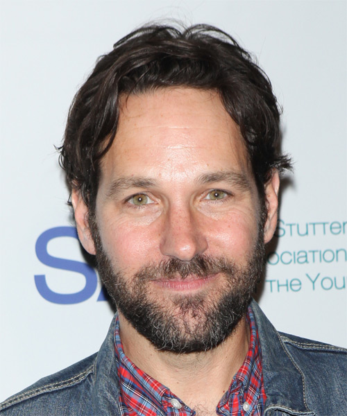 Paul Rudd Short Straight Casual Hairstyle