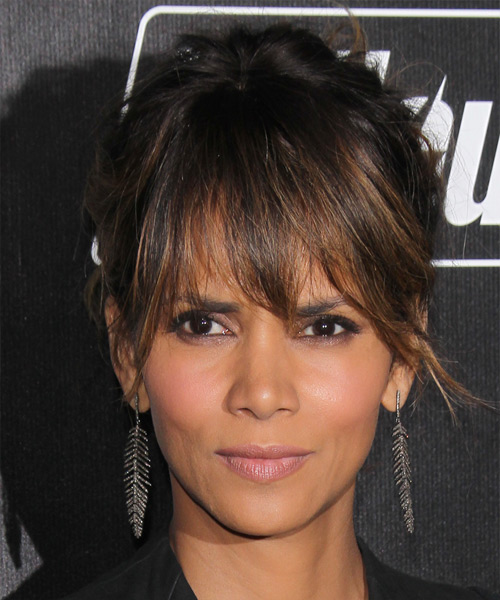 Halle Berry Long Straight Casual