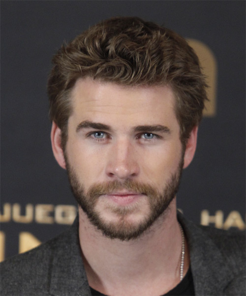 Liam Hemsworth Short Straight