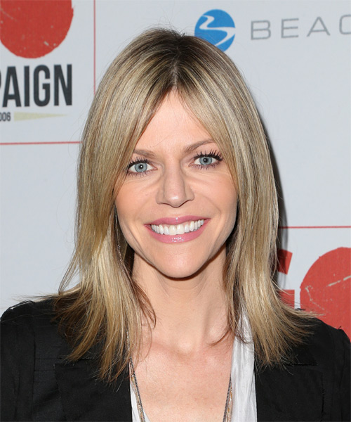 Kaitlin Olson Medium Straight Casual Hairstyle - Medium Blonde Hair Color