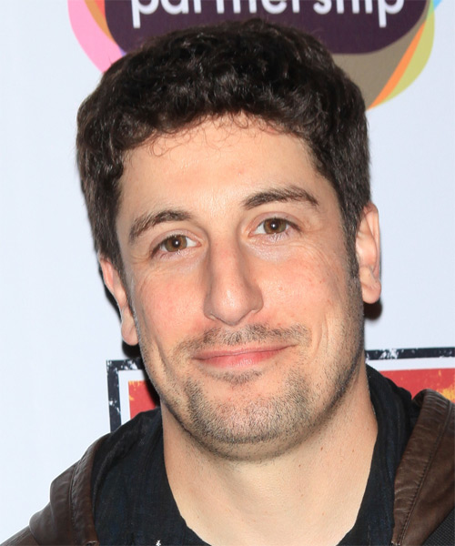 Jason Biggs Short Wavy Casual Hairstyle