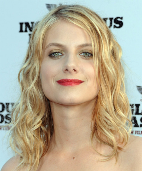 Melanie Laurent Long Wavy Hairstyle