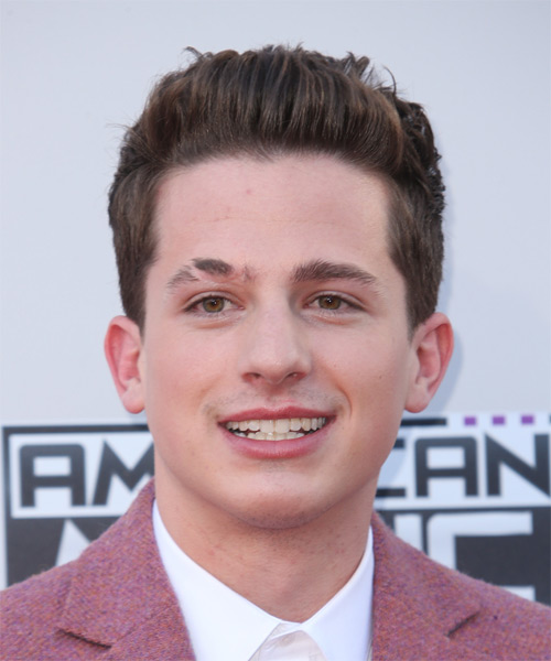 Charlie Puth Short Straight Formal