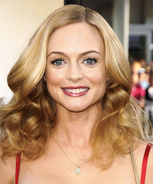 Heather Graham Long Wavy Formal