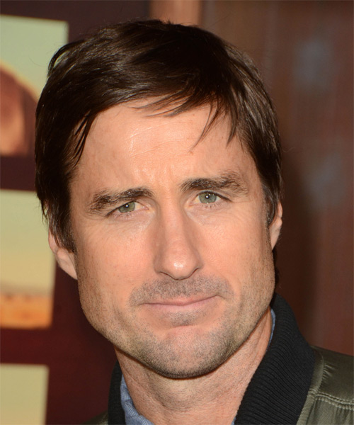 Luke Wilson Short Straight Casual Hairstyle - Medium Brunette (Chocolate) Hair Color