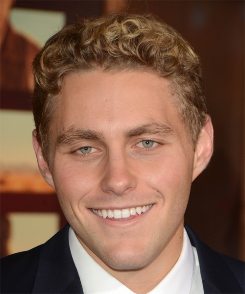 Jared Sandler Short Curly Casual Hairstyle - Medium Blonde Hair Color