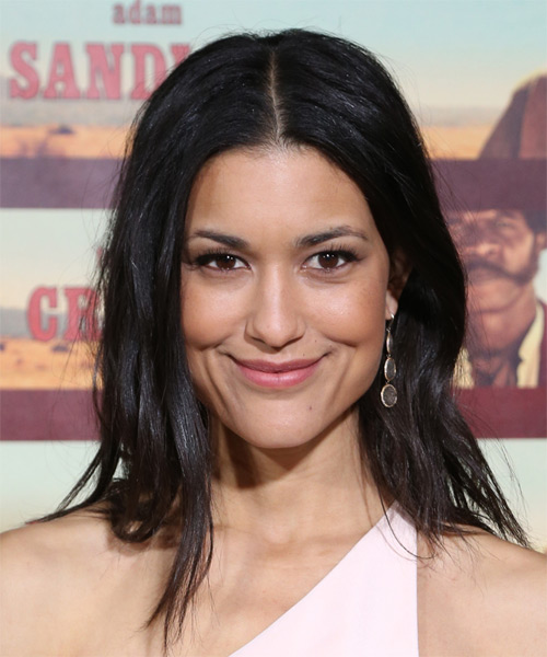 Julia Jones Medium Straight Casual Hairstyle