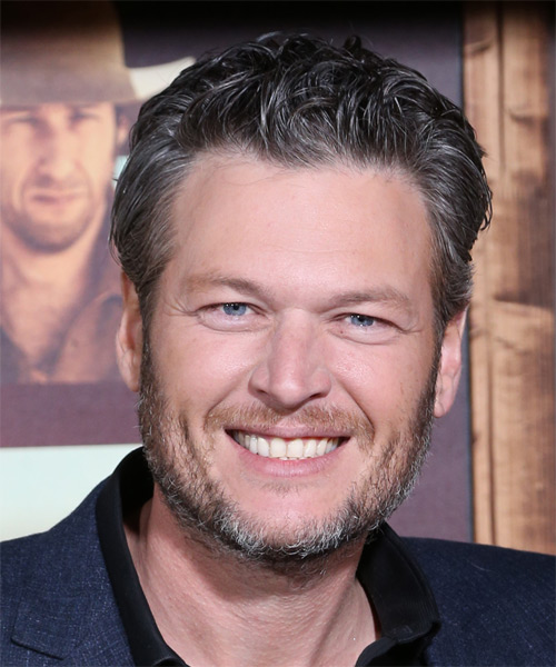 Blake Shelton Short Wavy Formal Hairstyle