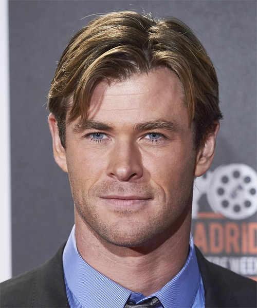 Chris Hemsworth Short Straight Casual